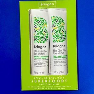 Briogeo superfoods hair care minis